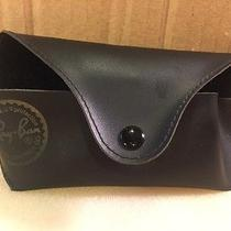 Ray Ban Black Leather Soft Case Mens Vintage Sunglasses Shades Photo