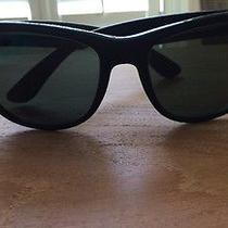 Ray Ban Black Wayfarer Ii Black Sunglasses Photo