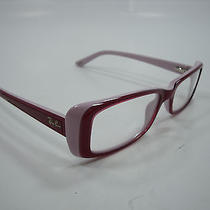 Ray Ban Eyeglasses Rb 5243 Pink 5087 Size 50mm 16mm 135mm Authentic Photo