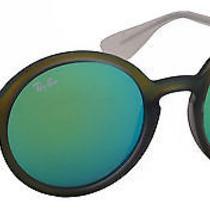 Ray-Ban Men's Sunglasses Rb4222 50mm Shot Green Rubber 61693r Photo