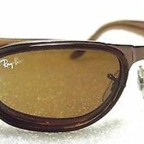 Ray-Ban New Vintage Sunglasses b&l Sidestreet Undercurrent Bronze W2662 B-15 Nos Photo