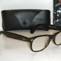 Ray Ban New Wayfarer Rb 5184 2012 50mm Dark Havana Eyeglasses Rx Ready Frame Photo