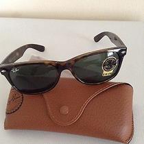 Ray-Ban Rb 2132 902 New Wayfarer Tortiose Sunglasses 55 Photo