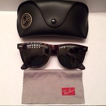 Ray Ban Rb 2140 Tortoise Wayfarer Classic Photo