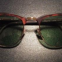 Ray Ban Rb 3016 Clubmaster 1145/o5 51mm Sunglasses Photo