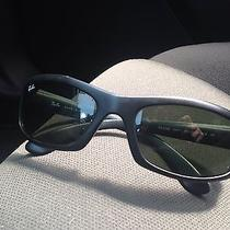 Ray Ban Rb 4026 Shot Matte Black Frame Sport Wrap Sunglasses 601-S 60-18 3n Photo