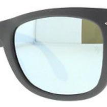 Ray-Ban Rb 4105 6022/30 Matte Gray Folding Wayfarer Unisex Sunglasses Photo