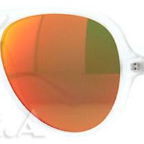 Ray-Ban Rb 4125 Cats 5000 646/69 Matte White Unisex Aviator Sunglasses Photo
