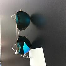 Ray-Ban Rb3025 Aviator Flash Lenses Mirror Blue Sunglasses Photo