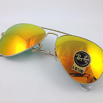 Ray Ban Rb3025 Aviator Sunglasses  Glass Lens Mirror Classic Genuine 58mm Brand Photo