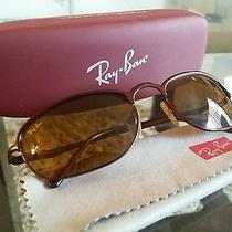 Ray Ban Rb3105 W3137 Brown Wrap G15 Flex Hinges Sunglasses Photo