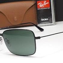 Ray-Ban Rb3514 153/71 Sand Demi Gloss Black Frame Green Lens Sunglasses