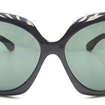 Ray-Ban Rb4098 Jackie Ohhii Oversized Black Sunglasses 109 Photo