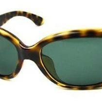 Ray Ban Rb4101f Jackie Ohh Sunglasses-710/71 Light Havana (Green Lens)-58mm Photo