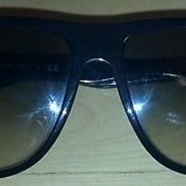 Ray Ban Rb4147 Sunglasses - 601/32 Black (Crystal Gray Gradient Lens) - 60mm Photo