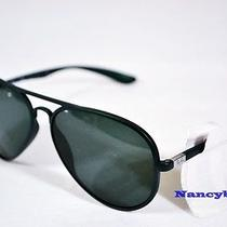 Ray Ban Rb4180 6016/71 Lite Force Green & Green Gradient Sunglasses Photo