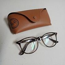 Ray-Ban Rb4259 Designer Eyeglasses 51-20-145 Light Tortoise 710/73 Rx Lenses Photo
