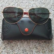 Ray Ban Scuderia Ferrari Gold Tone Sunglasses Photo