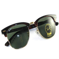 Ray Ban Sunglasses 3016 W0366 Clubmaster Tortoise Rb3016 W0366  Photo