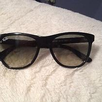Ray Ban Sunglasses Black ) Comes With Case & Cloth Photo