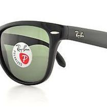 Ray Ban Sunglasses Rb 4105 601/58 Black 50mm Photo