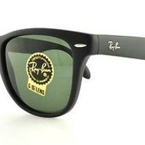 Ray Ban Sunglasses Rb 4105 601s Matte Black 50mm Photo