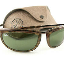 Ray-Ban Sunglasses Rb2319 Olympian 1 Brown Tortoise Green 1287/14 New Authentic Photo