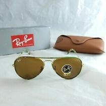 Ray Ban Sunglasses Rb3025jm 169 Camouflage Gold Brown Classic B15 58mm Non Polar Photo