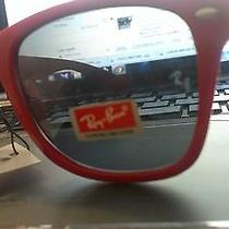 Ray Ban Sunglasses Red Photo