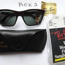 Ray-Ban Vintage b&lomb Sunglasscatsl17203000g-1556mmpaddlebrownnew B2 Photo