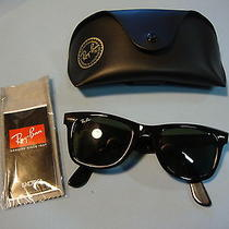 Ray Ban Wayfarer Hand Made in  Italy Sunglasses Rb 2140 Photo