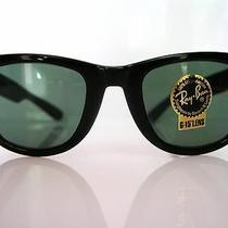 Ray Ban Wayfarer Vintage L 2009  Bausch and Lomb Usa  Black Ebony Nos W/case Box Photo