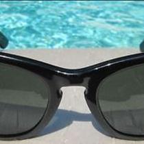 Ray Ban Wayfarer Vintage Sun Glasses - Laramie - Ebony  Photo