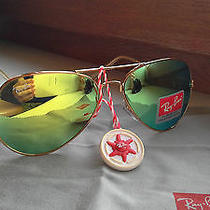Ray Ban Women Men Sunglasses Yellow Green  Photo
