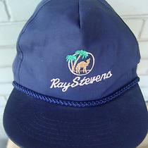 Ray Stevens Palm Trees Camel College Vtg Baseball Hat Cap One Size  Photo
