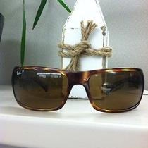 Rayban Brown/brown Polarized Rb4095 642/57  Photo