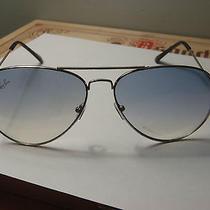 Rayban Chrome Steel Frame Sunglasses  Photo