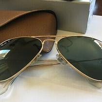 Rayban Classic Green Polarized Rb3025 - Gold Frame - 58mm 001/58 Italy Photo
