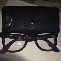 Rayban Glasses Large Black Fram Photo
