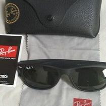 Rayban New Farer Polarized Sunglasses New Condition Photo