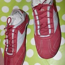 Rbk Red Turquoise Running Shoes  Gently Worn Photo