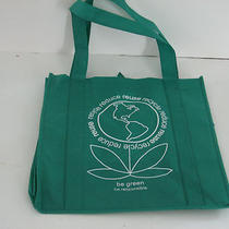 Re-Usable Shopping Bags 3 Pack 11 X 7 X 12 Green Alternative to Plastic Photo