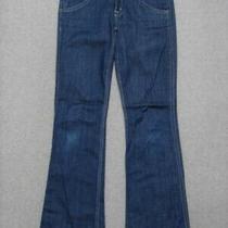 Re05405 Hudson Boot Cut Womens Jeans Sz26 Dark Blue Photo