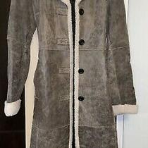 Reaction Kenneth Cole Womens Trench Coat Size Xs Photo