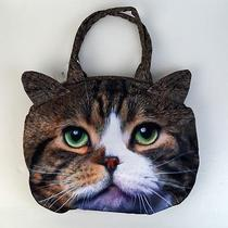 Real Cat American Shot Hair Costume Play Should Hobo Tote Hand Bag C11 Photo