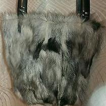 Real Lamb Fur Handbag Photo