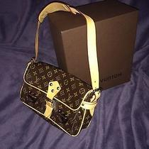 Real Louis Vuitton Hudson Brown Shoulder Bag Photo