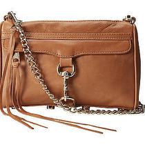 Rebecca Minkoff Almond Mini Mac Gold Crossbody Carryall Tote Purse Bag New Photo
