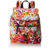 Rebecca Minkoff Bike Backpack Multi Floral Print Photo