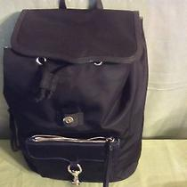Rebecca Minkoff Black Nylon/leather Bike Share Backpack  Nwt Photo